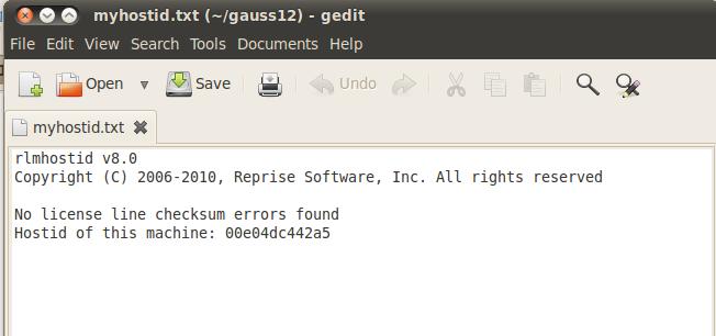 Install GAUSS for Linux | Aptech