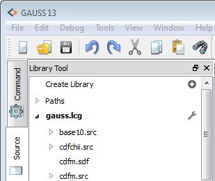 Viewing GAUSS libraries