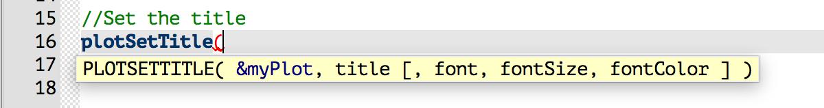 GAUSS function tooltip.