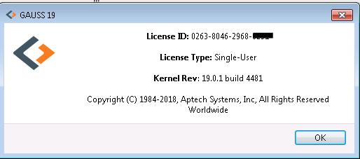 Install GAUSS for Windows | Aptech