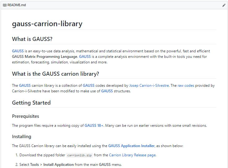 Using Gauss Packages Complete Guide Aptech